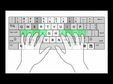 Cách nhớ bàn phím để đánh máy nhanh 'vun vút' trong 7 ngày. #tinhoc #maytinh #thuthuat #thongtin