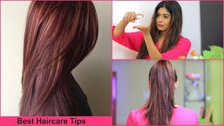 Best Hair care Tips in Hindi  | Secret Of My Colored Hair | Rinkal Soni