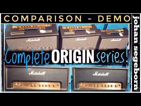 The Complete Marshall ORIGIN Series Comparison!