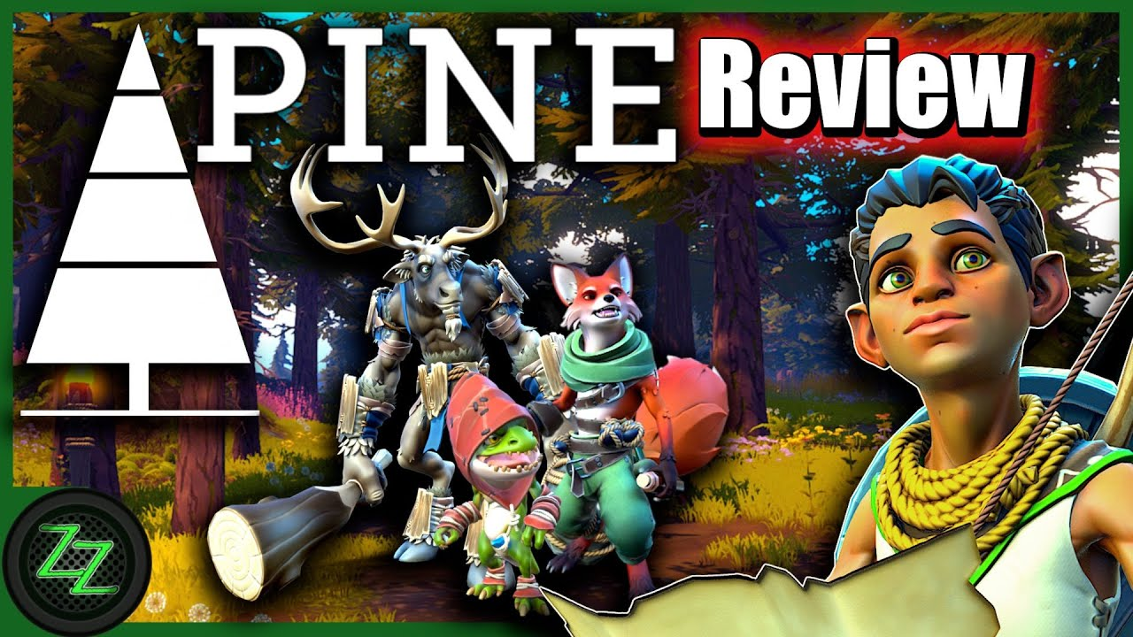 Pine Review [Deutsch, many subtitles] Test des Open World Action Adventures mit dynamischen Stämmen