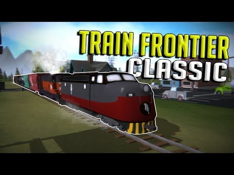 EPIC NEW TRAIN & CITY BUILDING GAME! - Train Frontier Classic Gameplay - First Look