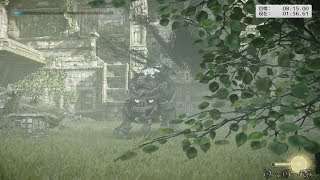 【PS4 Pro】ワンダと巨像 - Hard Time Attack Mode #14・鎧を纏った番人/Cenobia(01:56.61)
