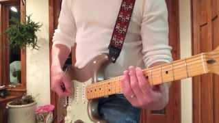 1969 2013 Reverse Headstock Shorline Gold  Fender Custom Shop Strat www.eddievegas.com