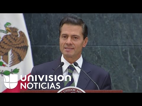 """Enrique Peña Nieto sobre Donald Trump: """"mi prioridad es proteger a los mexicanos donde quiera que se"""
