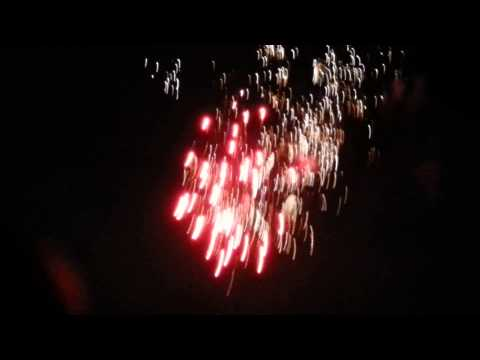 Happy New Years 2015  Naples Italy Street Fireworks Displays