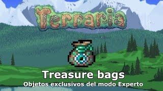Items del modo experto (Treasure Bags) - Terraria 1.3