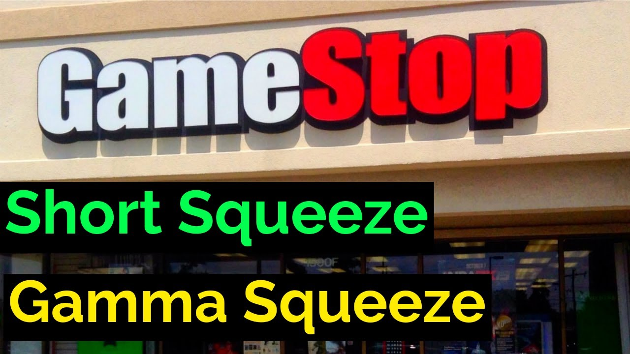 Video #141)  GameStop Madness  -  Short & Gamma Squeeze
