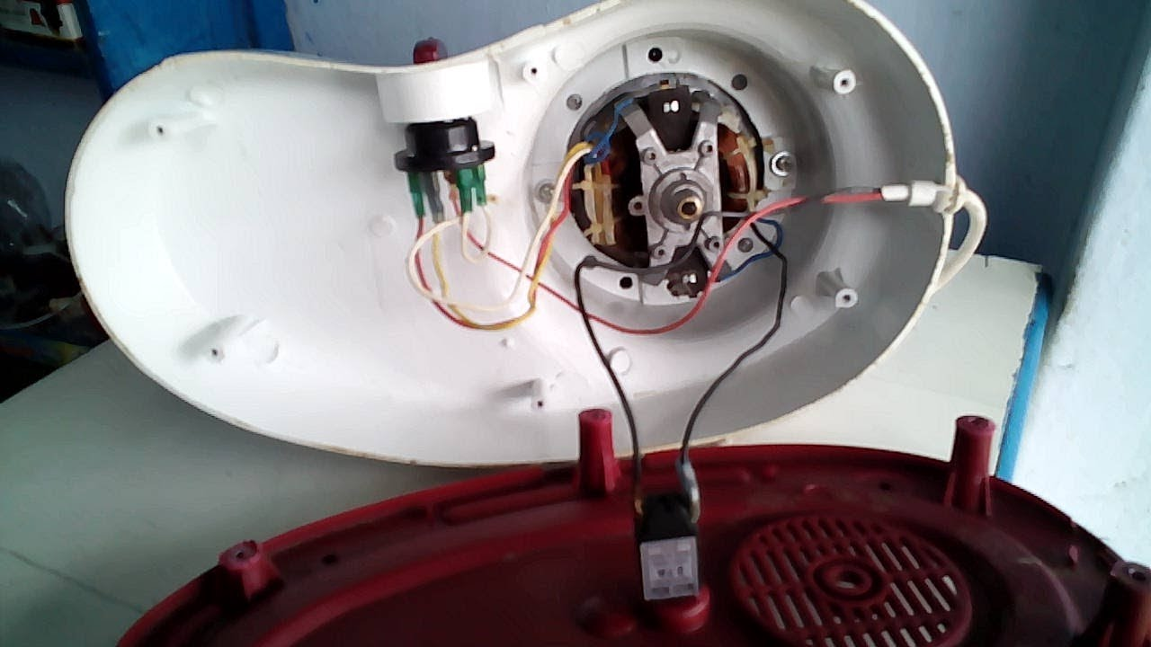 Mixer Grinder Wiring Connection