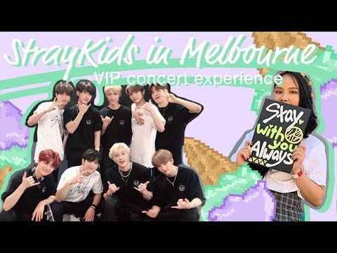 [Vlog] StrayKids In Melbourne - VIP Concert Experience