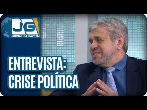 Rodolpho Gamberini entrevista José Américo, deputado estadual – PT/SP, sobre a crise política