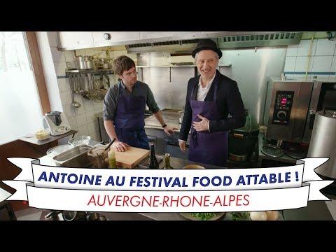Antoine de Caunes cuisine au festival food de Lyon : Attable !