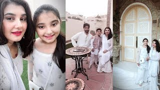 javeria saud on eid day celebrating with family