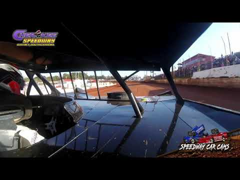 #14 Jeff Robinson - 602 Feature - 1-26-20 Cherokee Speedway - In-Car Camera