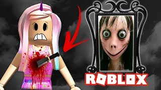 I HAVE BECOME MOMO AND HAS PASSED ME THIS 😨 | ROBLOX HIGHSCHOOL