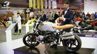 Nowe BMW R nineT Scrambler 2016 na Motor Show | Jednoślad.pl