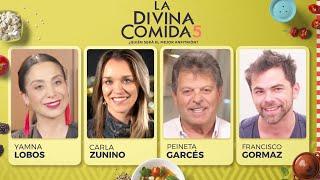 La Divina Comida - Yamna Lobos, Carla Zunino, Jorge Garcés y Pipo Gormaz
