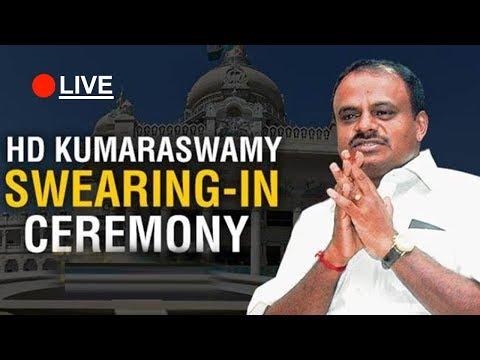 HD Kumaraswamy Oath-Taking Ceremony in Karnataka Live|#KarnatakaCM #KumaraSwamy | TV5 Kannada