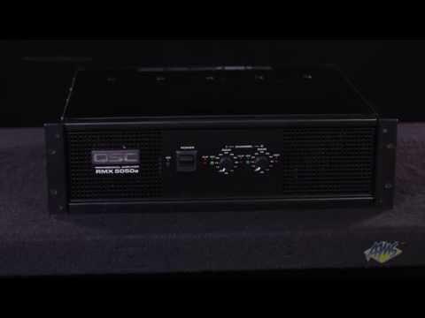 QSC RMX 5050a Power Amplifier - QSC RMX 5050a