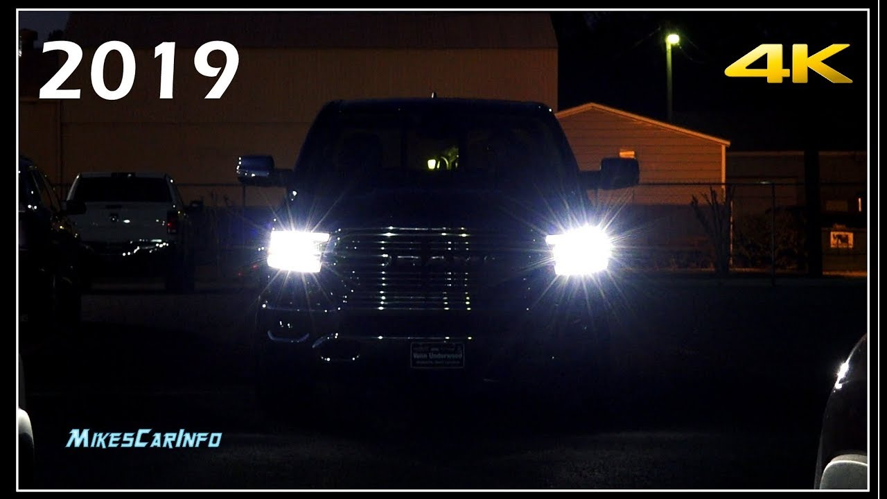 At Night 2019 Ram 1500 Interior Exterior Lighting Overview Youtube