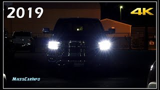 AT NIGHT: 2019 RAM 1500 Interior & Exterior Lighting Overview
