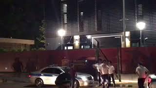 Приезд сборной Испании на стадион фк Краснодар