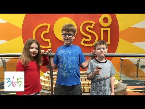 COSI SCIENCE CENTER TAKE TWO | KIDS LIFE 365 | 3.26.17