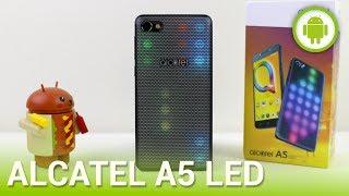 Alcatel A5 LED, recensione in italiano