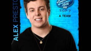 Alex Preston - The A Team - Studio Version - American Idol 2014 - Top 7