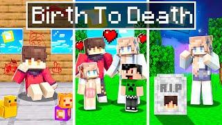 RageElixir's BIRTH to DEATH in Minecraft!