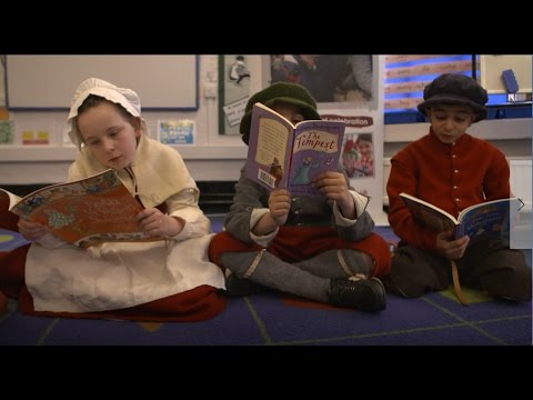 Ashburnham school kick off Shakespeare Week
