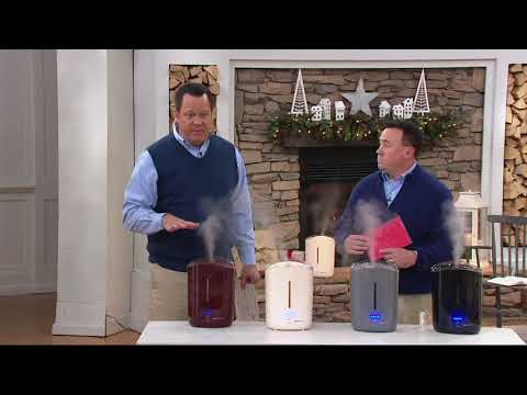 Air Innovations 1.3 Gal Clean Mist Top Fill Humidifier on QVC