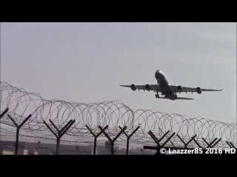 Las Vegas Sands A340-541 (VP-BMS) / Take Off from Naples Capodichino Airport RWY 06 / HD