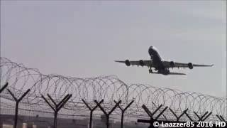 las vegas sands a340 541 vp bms take off from naples capodichino airport rwy 06 hd