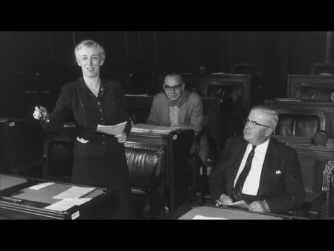 Peter Mansbridge's personal connection with Canada's 1st female cabinet minister