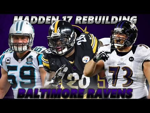 Madden 17 Connected Franchise | Rebuilding The Baltimore Ravens | BLOCKBUSTER TRADE EDITION!