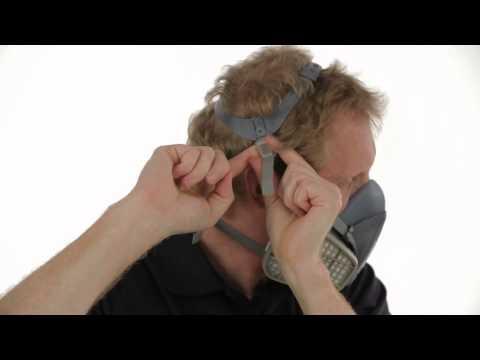 3M™ Half Facepiece Respirator 7500 Series Training Video - Full