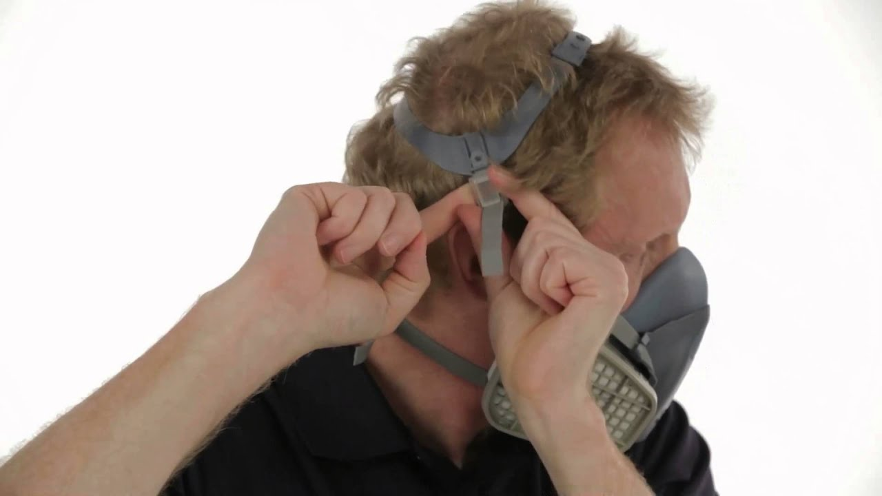 3m half mask respirator 7500