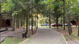 База отдыха «Босиком» на Истре - видеообзор