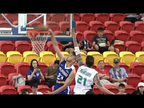 Highlights: Philippines vs. Iraq | Jones Cup 2017