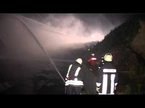 Zum zweiten Mal innerhalb von 14 Monaten: Maschinenhalle in Romrod abgebrannt