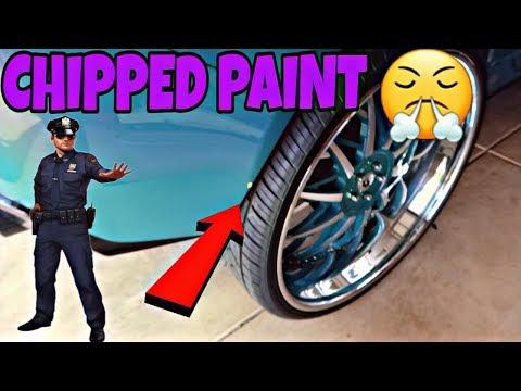 (BIG RANT) POLICE MAKE ME CHIP PAINT ON CAMARO