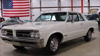 1964 Pontiac GTO white
