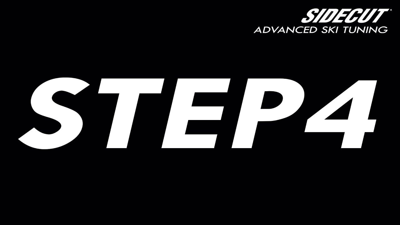 Ski Tuning Advanced  - step 4