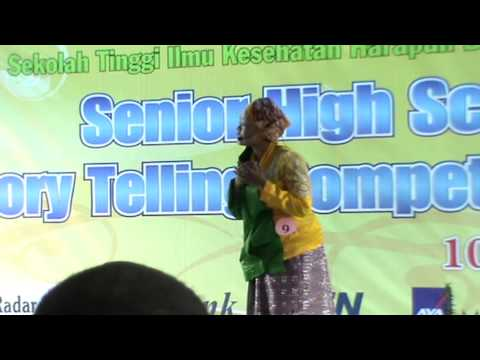 The Winner of Story Telling Contest Tingkat Jateng: SMK Negeri 3 Purwokerto