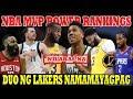 NBA MVP Power RANKING | INILABAS NA | Superstar DUO ng LAKERS NAMAMAYAGPAG