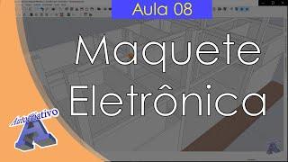 Curso de Maquete Eletrônica com SketchUp - Aula 08/50 Ajustes no Sólidos - Autocriativo