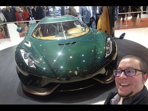 THE BEST CARS OF THE GENEVA MOTOR SHOW !!