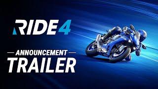 RIDE 4 - Announcement Trailer (2020)