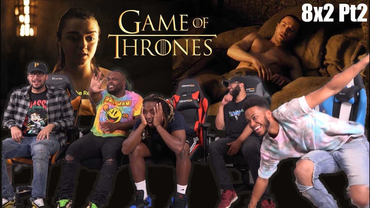 """Download Game of Thrones Season 8 Episode 2 """"A Knight of the Seven Kingdoms"""" GROUP REACTION/REVIEW PT2"""