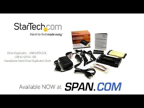 Case Overview - The StarTech SATA / IDE Standalone Drive Duplicator UNIDUPDOCK